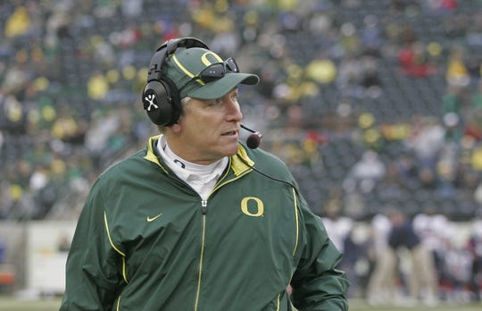 Former Oregon coach Mike Bellotti said it was difficult to recruit on the West Coast against USC during their dominate seasons in the early and mid-2000s.