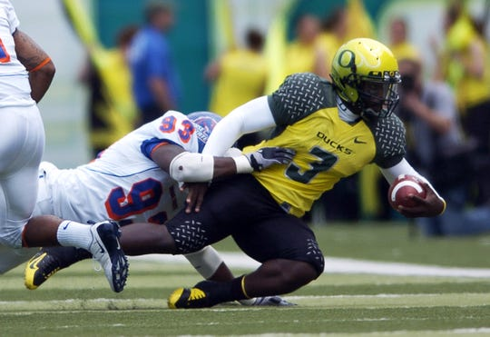 Oregon's Chris Harper was the Ducks' top recruit in the 2008 recruiting class.