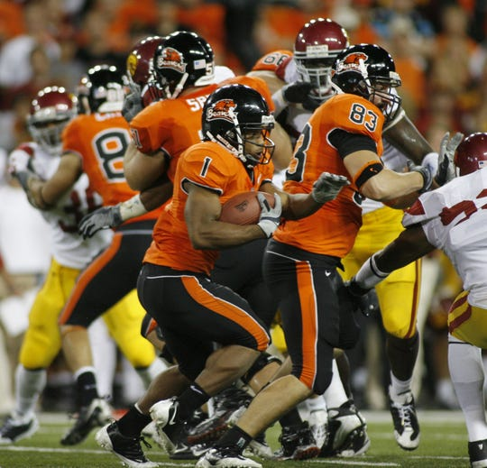 Oregon State's Jacquizz Rodgers was the Beavers' second-highest rated recruit in 2008.