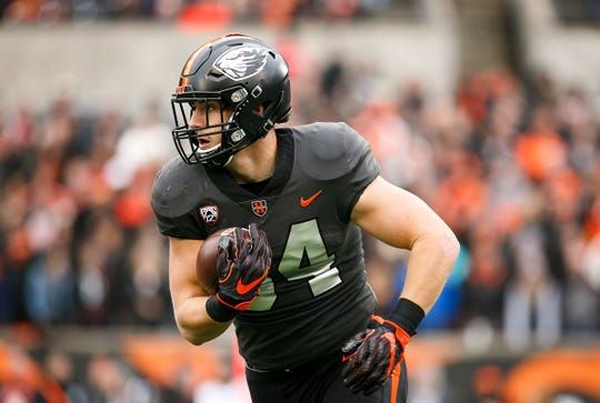 Oregon State's Ryan Nall (34) was in the Beavers' 2014 recruiting class.