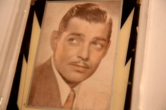 An image of Clark Gable, who spent part of his life with a woman in Silverton, from the Silverton Country Historical Society, part of the Romance: Stories of Love and Passion in the Mid-Willamette Valley exhibit running through April 20 at the Willamette Heritage Center in Salem on Thursday, Jan. 31, 2019.
