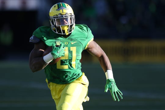 Oregon's Royce Freeman was the Ducks' top recruit in the 2014 recruiting class.