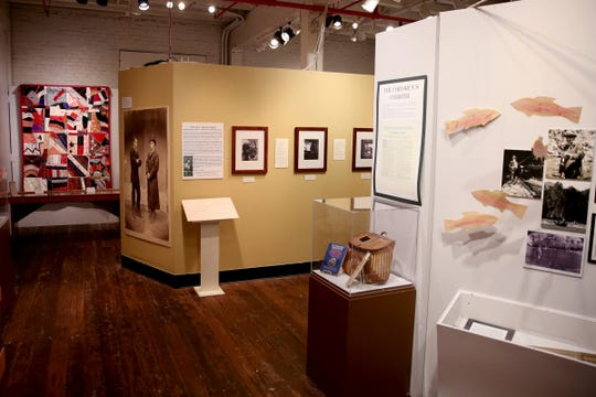 The Romance: Stories of Love and Passion in the Mid-Willamette Valley exhibit running through April 20 at the Willamette Heritage Center in Salem on Thursday, Jan. 31, 2019.