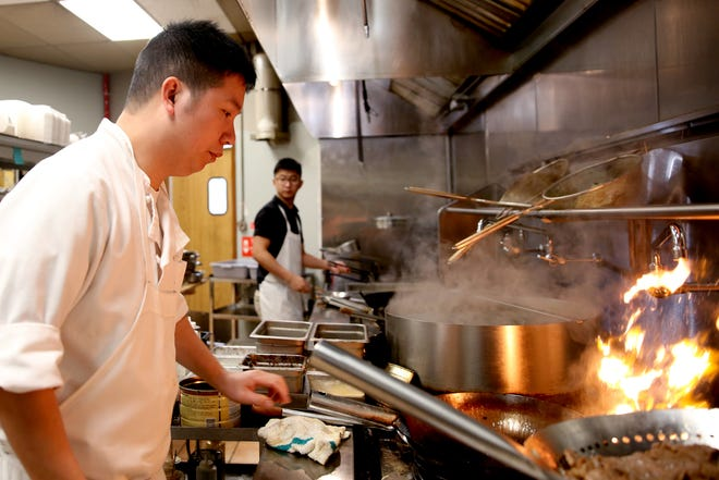 Chen's Family Dish, located at 2138 Lancaster Drive NESuite 139, scored a 91 on its semi-annual inspection May 2. A re-inspection on May 16 showed no priority violations.