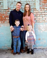 The Ballard family, consisting of Dillion Ballard, Rachel Ballard and their two children, Gavin and Maci, are excited for the 2019 San Angelo Stock Show and Rodeo.