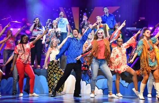 "There's no other show on the Shore like the James M. Bennett High Rock & Roll Revival, now in its 21st year. This photo from last year's show will give you an idea of what to expect from this year's experience, when they will be ""Rockin' the Movies"" Feb. 8-10 and 14-17."