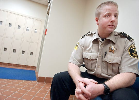 Sgt. Jason Gearman talks about the bail process at the Minnehaha County Jail where he works the night shift in 2003.