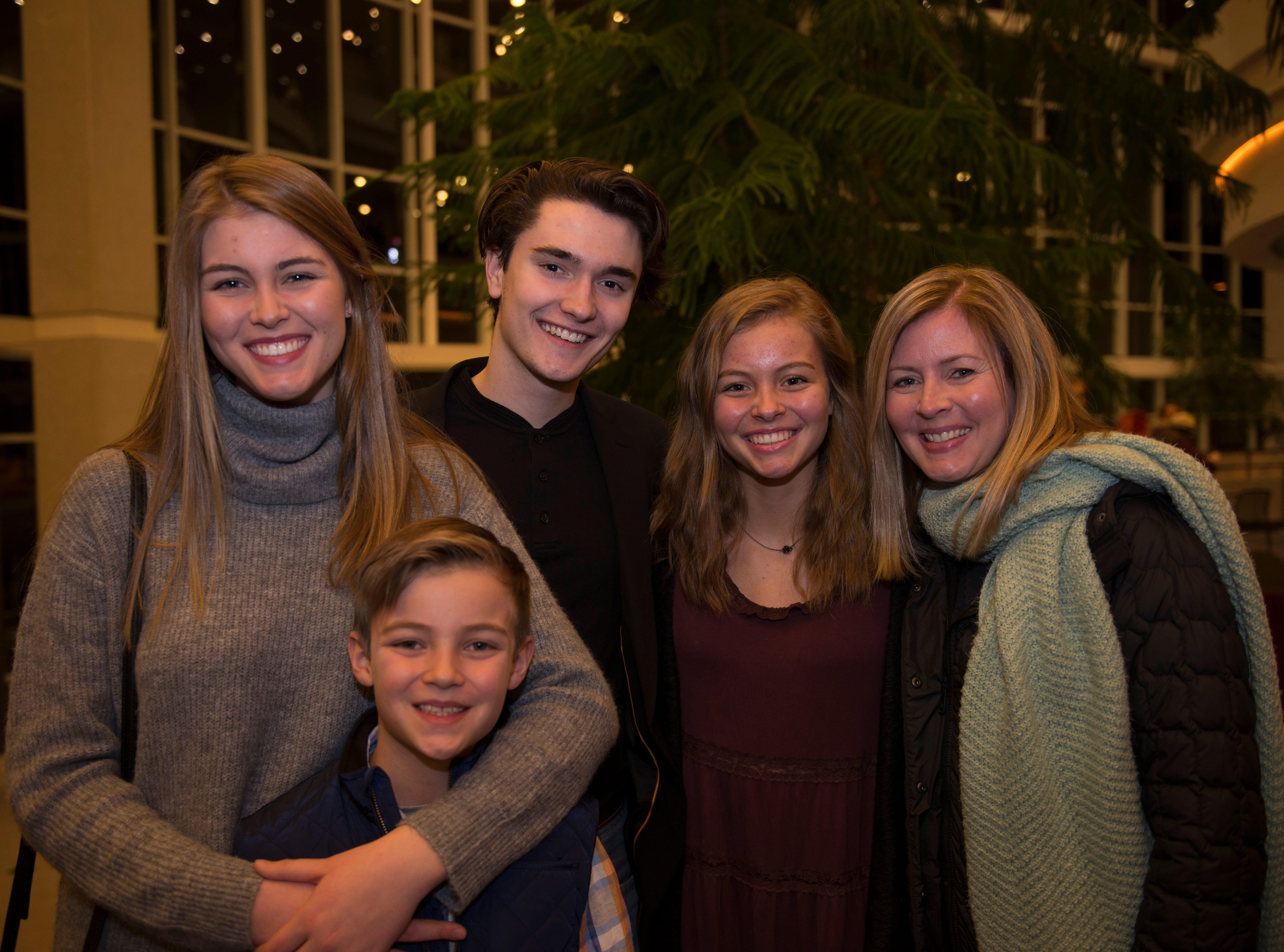 Christine, Grace, Jacques, Cooper, Savannah