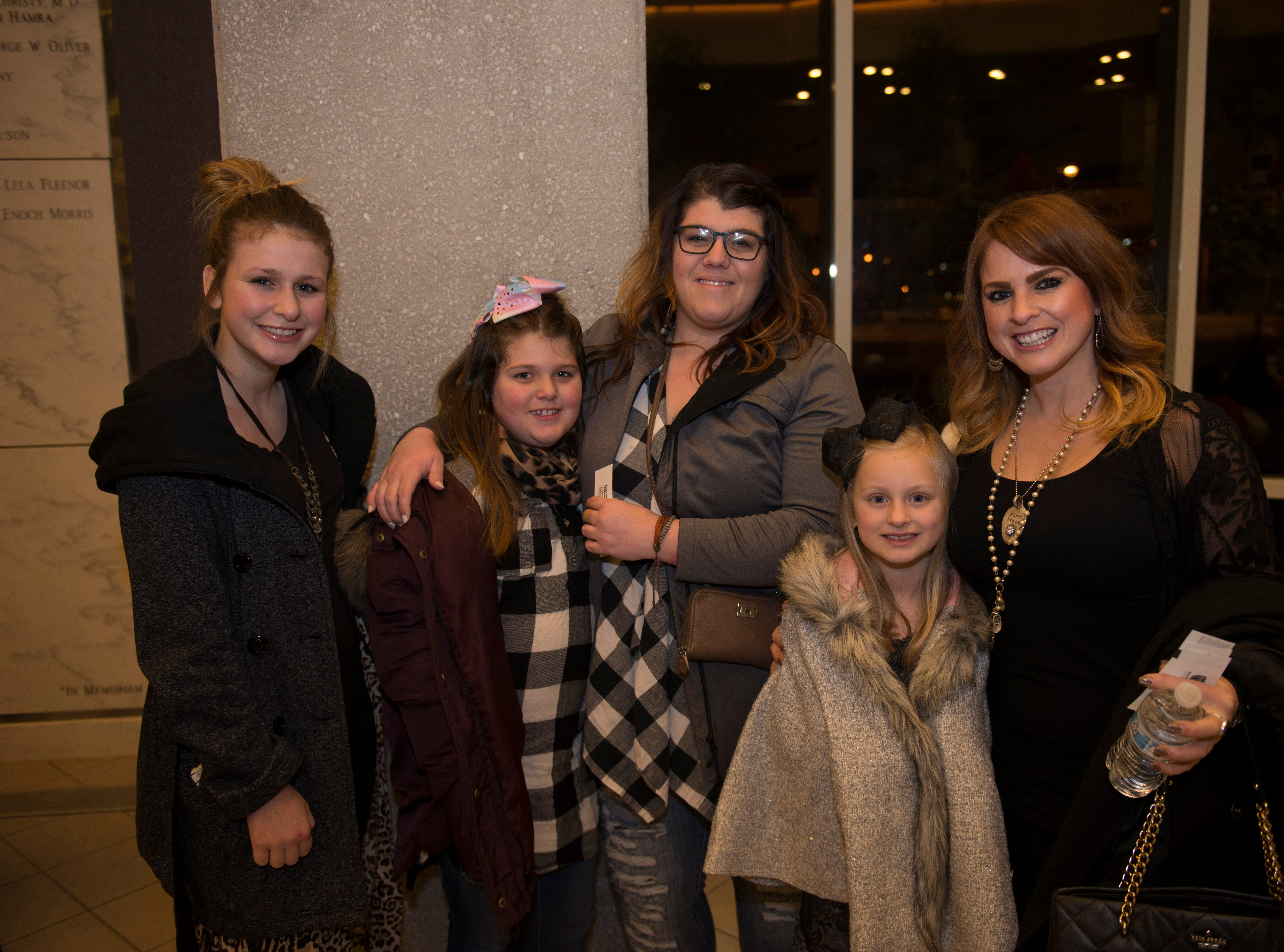 Andrea, Charlie, Courtney, Kayti, Ally