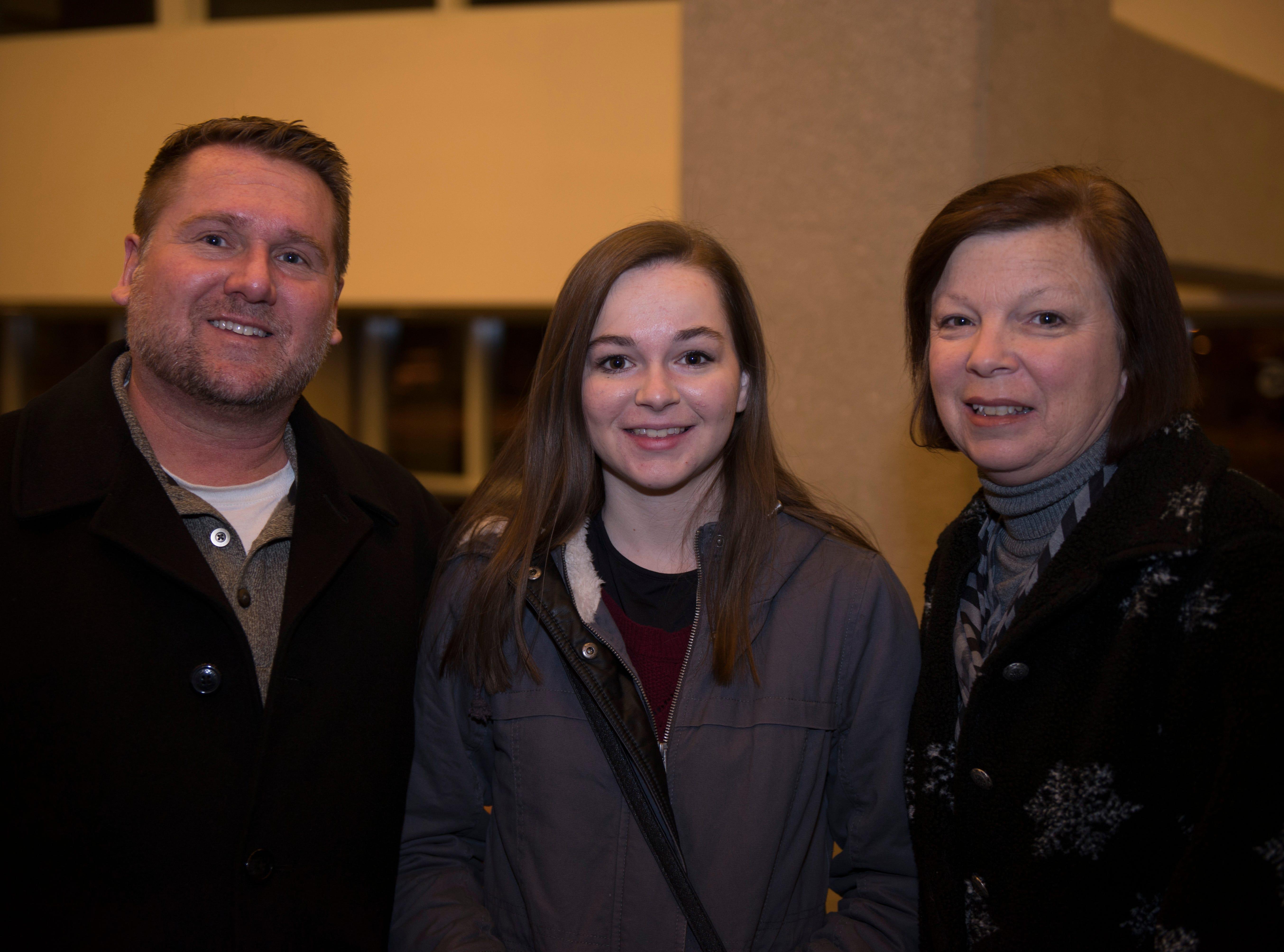Kristine, Abby, Jeff