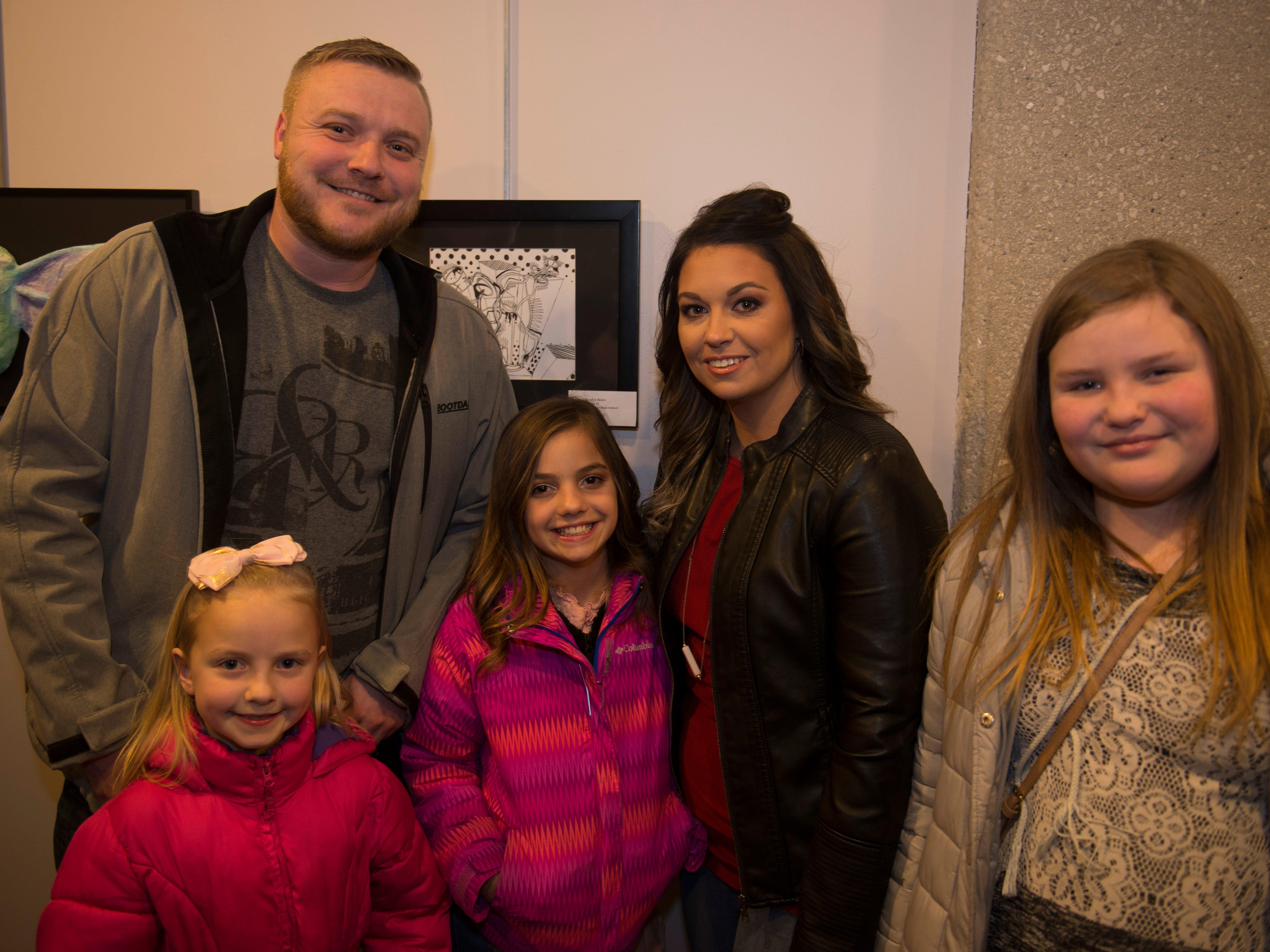 Bella, Tiffany, Izzy, Laney, Cody