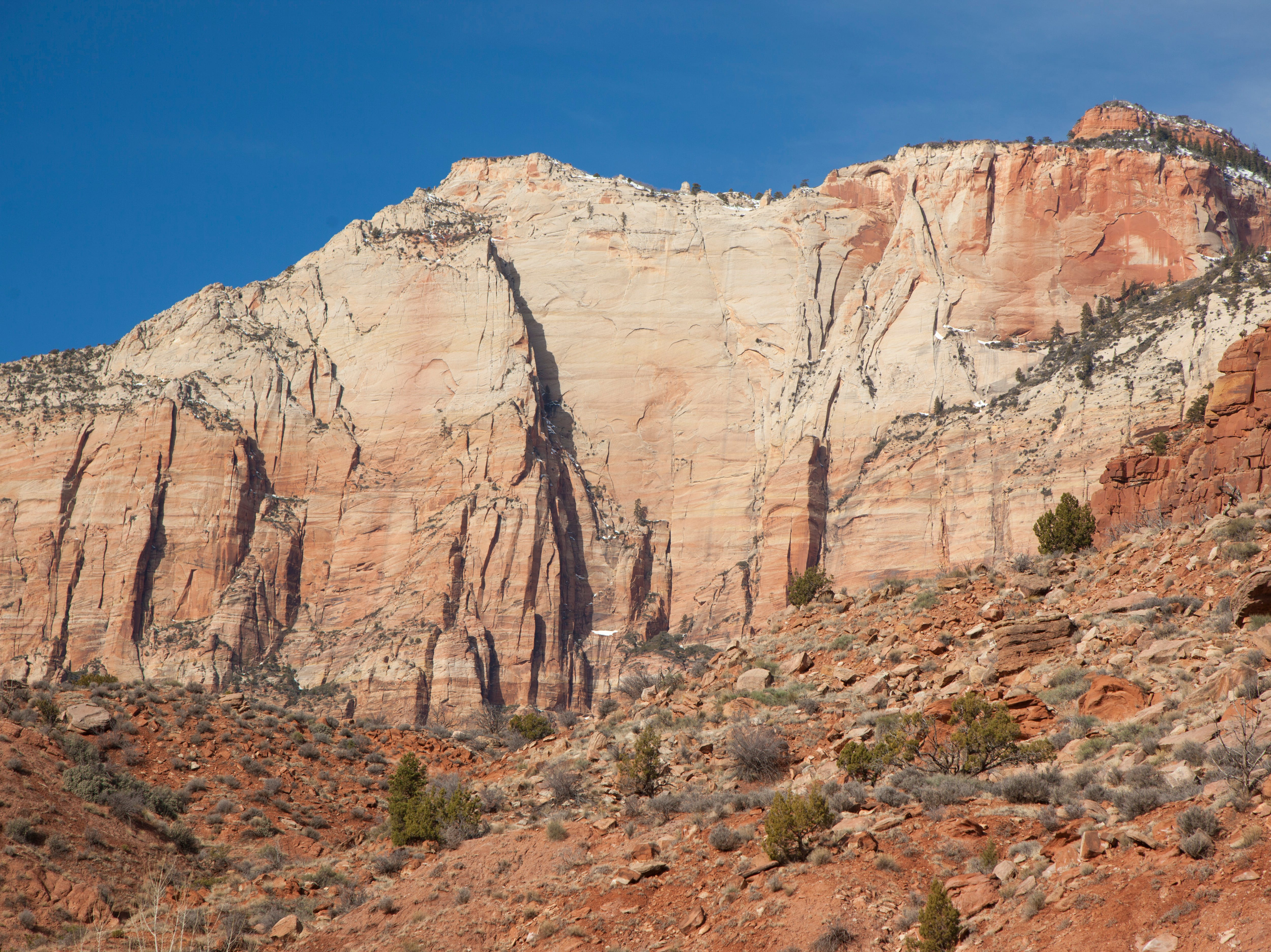 Zion National Park survives the government shutdown thanks to the help of the Zion National Park Forever Project Thursday, Jan. 31, 2019.
