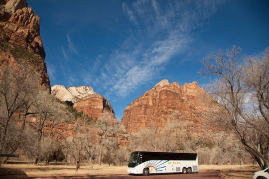 Zion National Park is set to welcome a record number of visitors President's Day weekend.