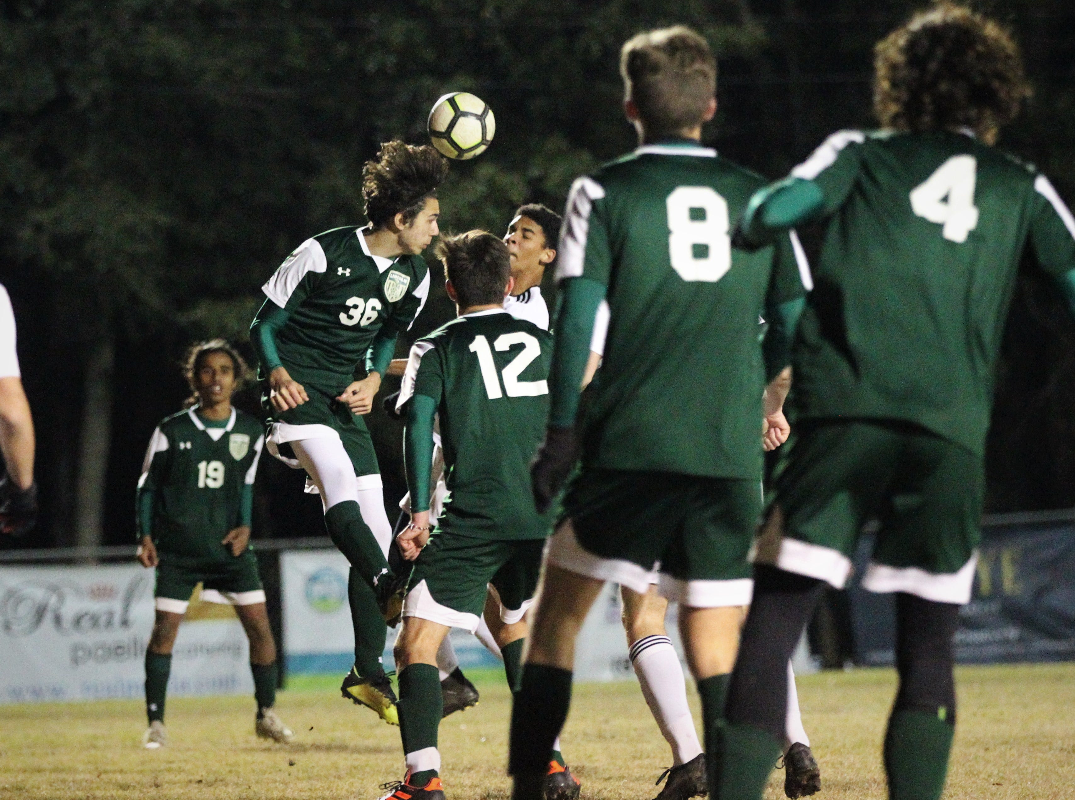 Chiles' boys soccer team beat Lincoln 1-0 in a District 2-4A semifinal on Jan. 30, 2019.