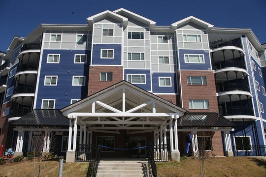 The grand opening of Casañas Village Apartments at Frenchtown Square was celebrated Thursday, Jan. 31, 2019.