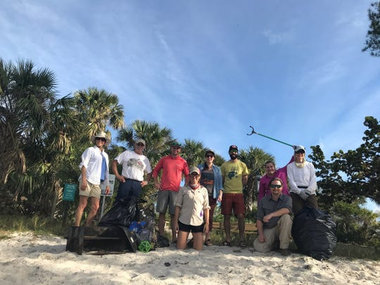The spoil islands in the Indian River Lagoon are kept clean by volunteers, who rely on visitors to do their part. There are no trash cans on any of the islands, so everything you bring ashore, you must also take away.
