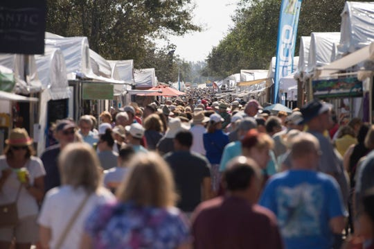 The 18th annual Hobe Sound Festival of the Arts is Saturday and Sunday along Dixie Highway.