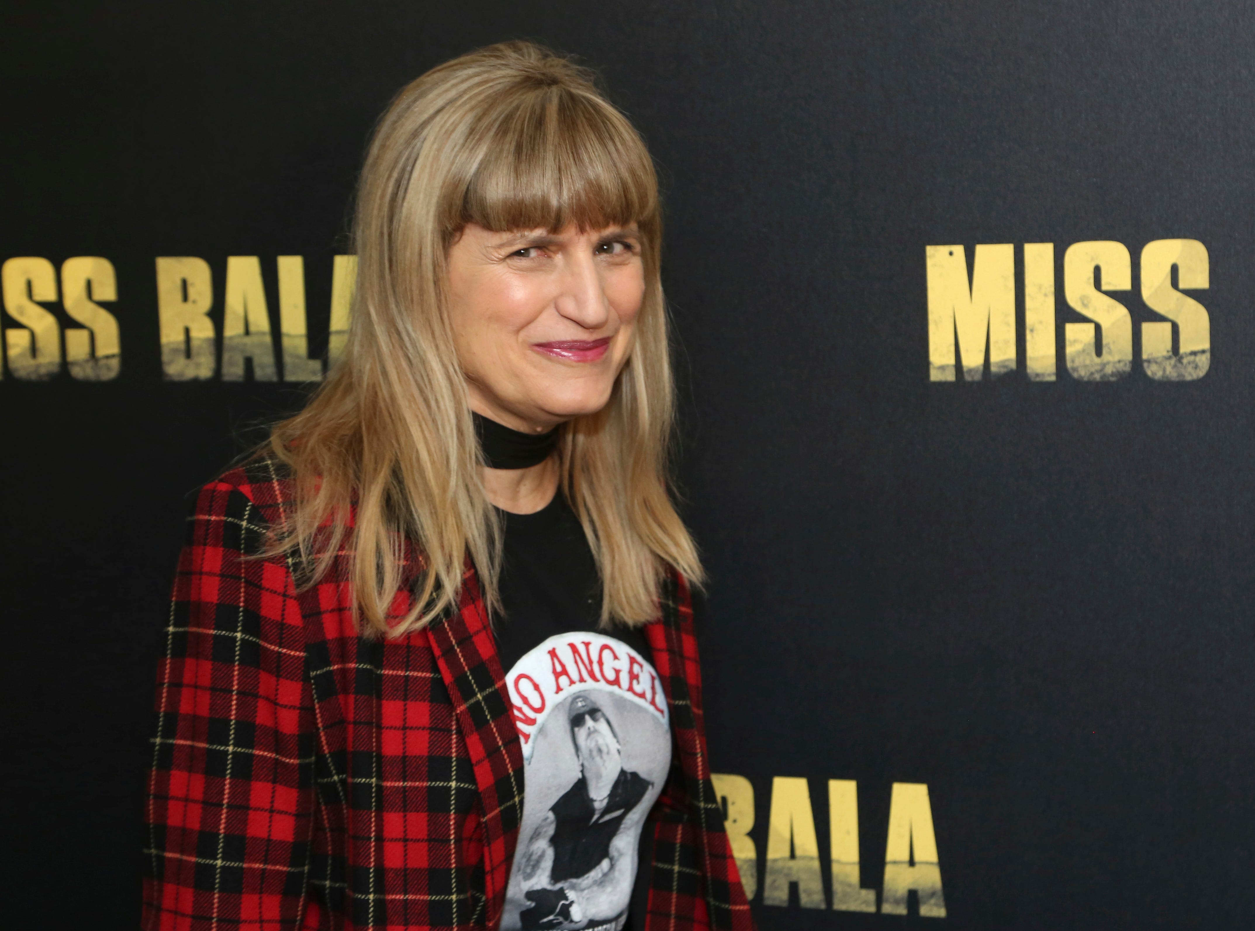 """Catherine Hardwicke poses for a photo at the """"Miss Bala"""" Photo Call at The London West Hollywood on Sunday, Jan. 13, 2019 in West Hollywood, Calif."""