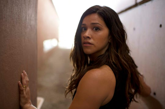 "This image released by Sony Pictures shows Gina Rodriguez in a scene from ""Miss Bala."""