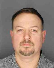 Kevin Holloway, 41, of Dobbs Ferry is accused of killing his infant son on Jan. 22, 2018.