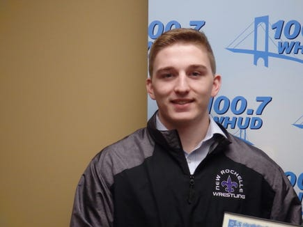 New Rochelle wrestler Jake Logan is the Con Edison Athlete of the Week