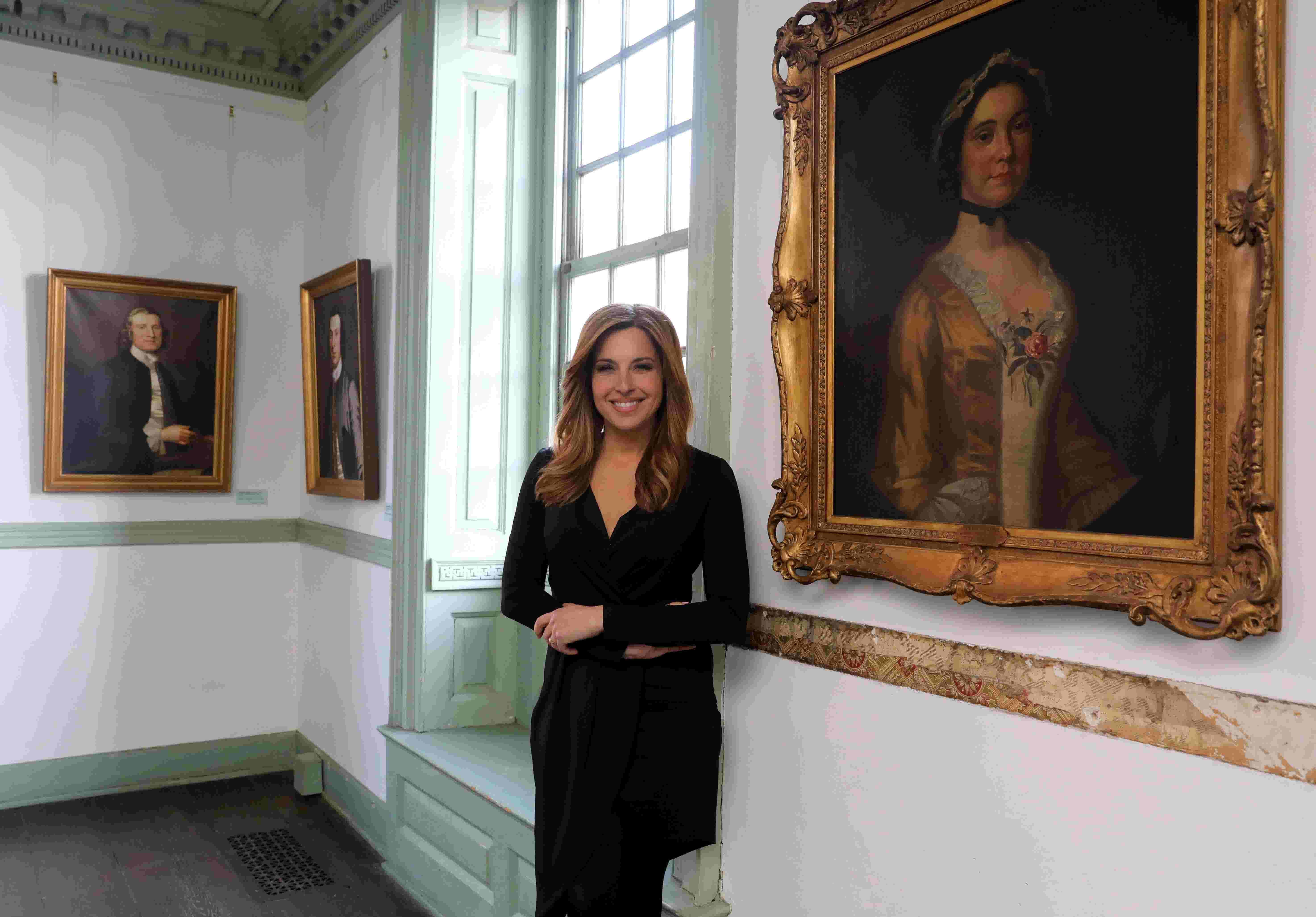Video Mary Calvis Novel On George Washingtons First Love
