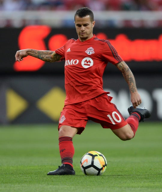 Sebastian Giovinco scored 83 goals over all competitions in four seasons with Toronto FC.