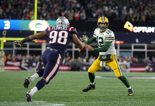 New England Patriots DE Trey Flowers is expected to be one of the Lions' top targets if he makes it to free agency.