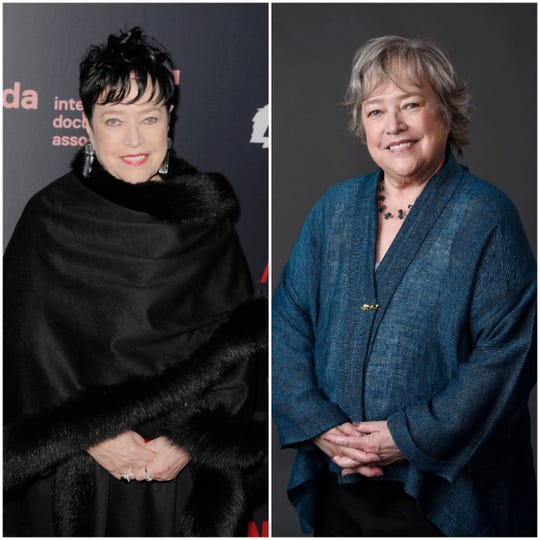 Oscar-winning actress Kathy Bates has dropped 60 pounds.