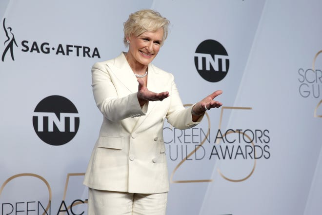 Glenn Close won ANOTHER best actress trophy last weekend at the Screen Actors Guild Awards.