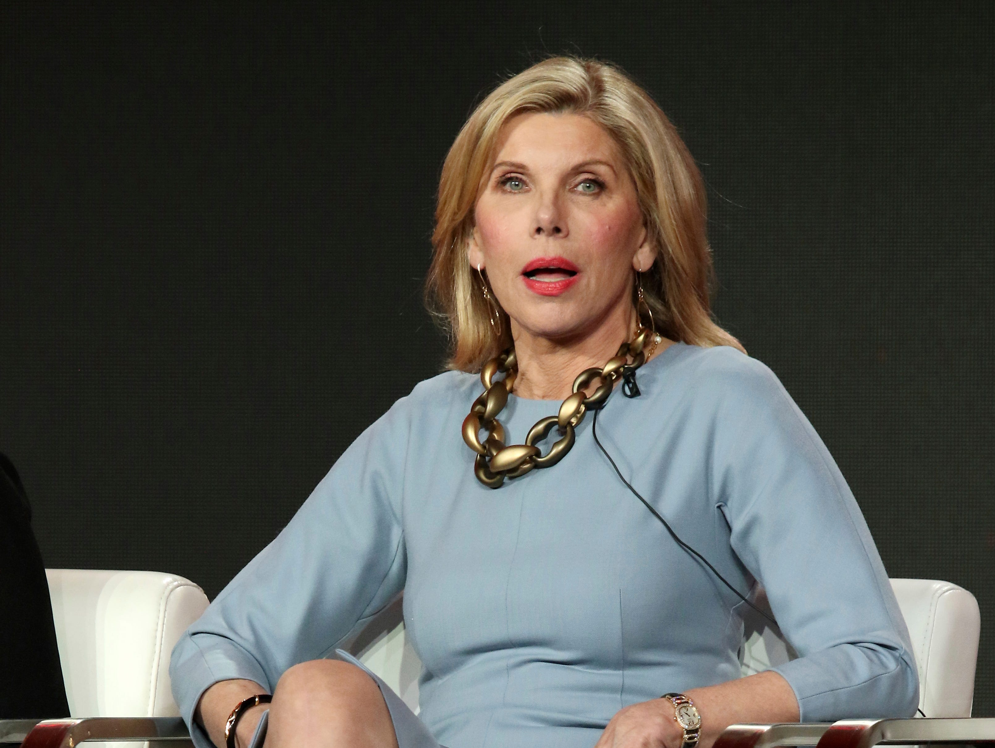 """Christine Baranski participates in a discussion about her role in """"The Good Fight."""""""