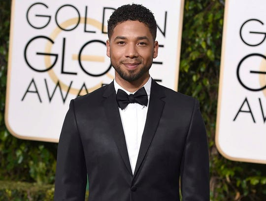 Jussie Smollett was attacked in Chicago on Tuesday.