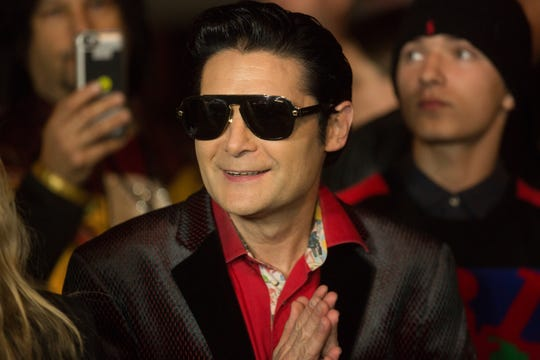 HOLLYWOOD, CA - JANUARY 30:  Corey Feldman arrives for Excelsior! A Celebration of The Amazing, Fantastic, Incredible and Uncanny Life Of Stan Lee  at TCL Chinese Theatre on January 30, 2019 in Hollywood, California.  (Photo by Gabriel Olsen/Getty Images)