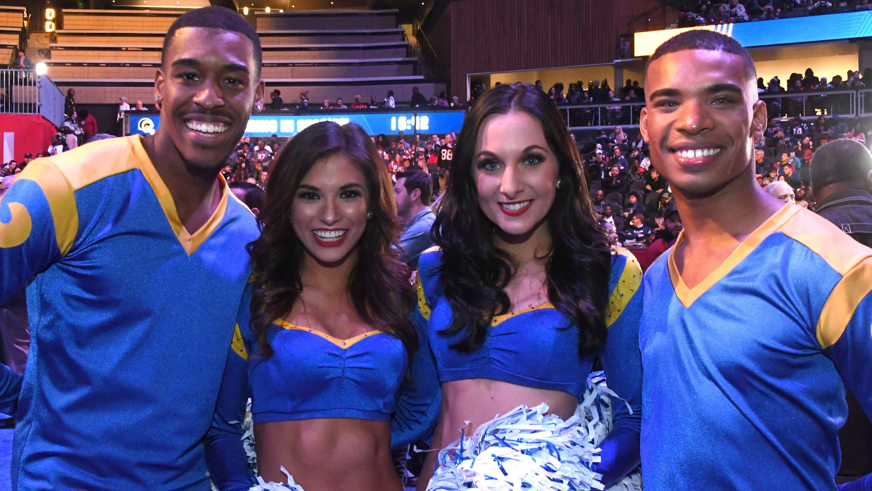 b66c20b6 Super Bowl 2019: Rams' male cheerleaders set to make history