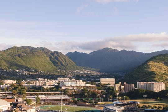 The University of Hawaii is a popular school for students from Guam, and a more affordable option for local students.