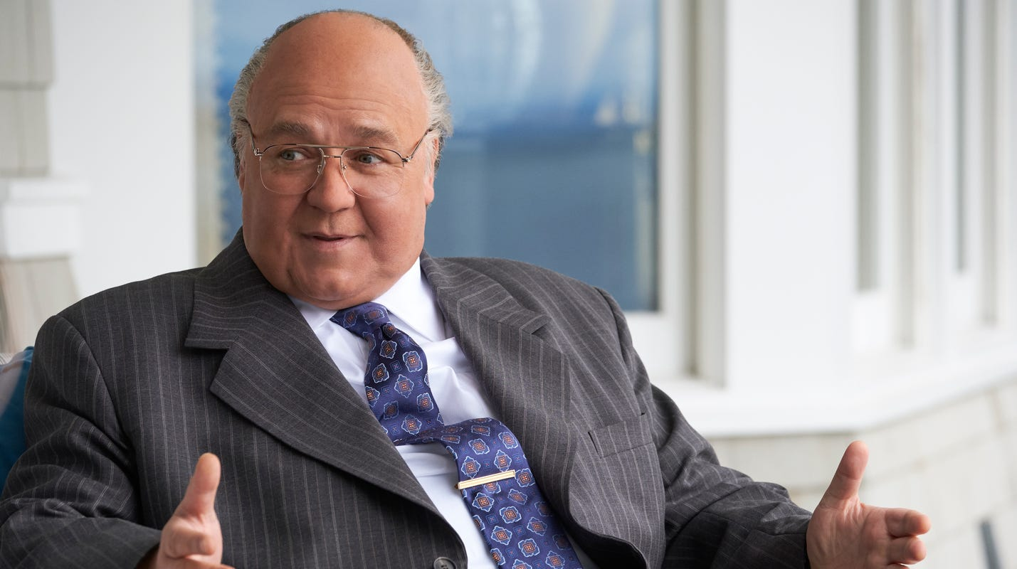 Russell Crowe plays Roger Ailes as big bully in 'Loudest Voice'