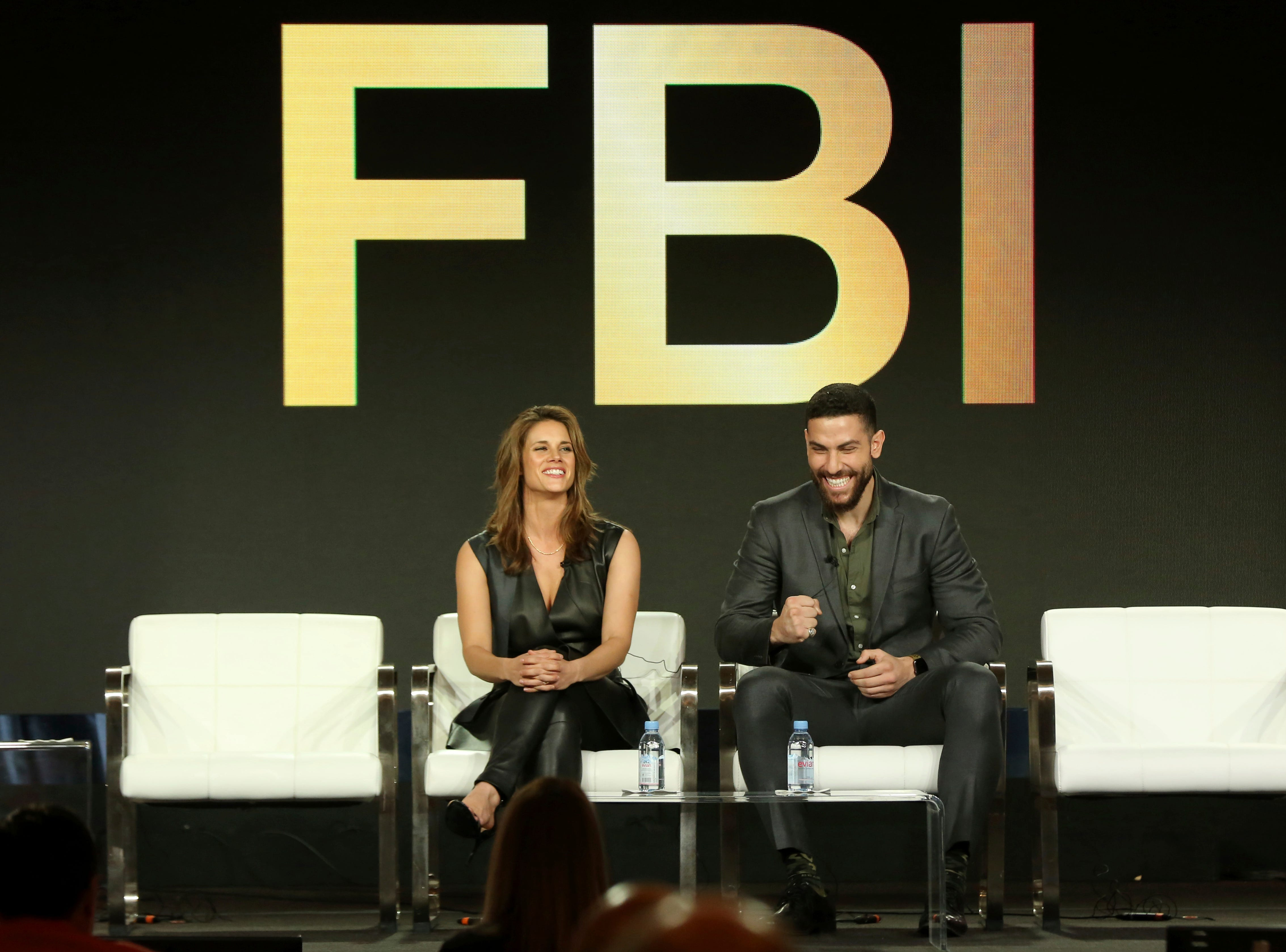 """Missy Peregrym and Zeeko Zaki talk about their series """"FBI,"""" which has been renewed for a second season."""