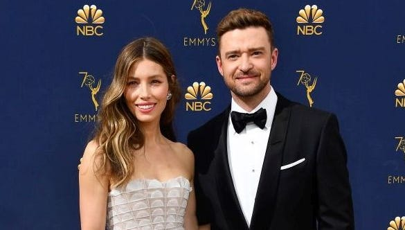 Justin Timberlake videos Jessica Biel asleep on his birthday date and moms totally relate