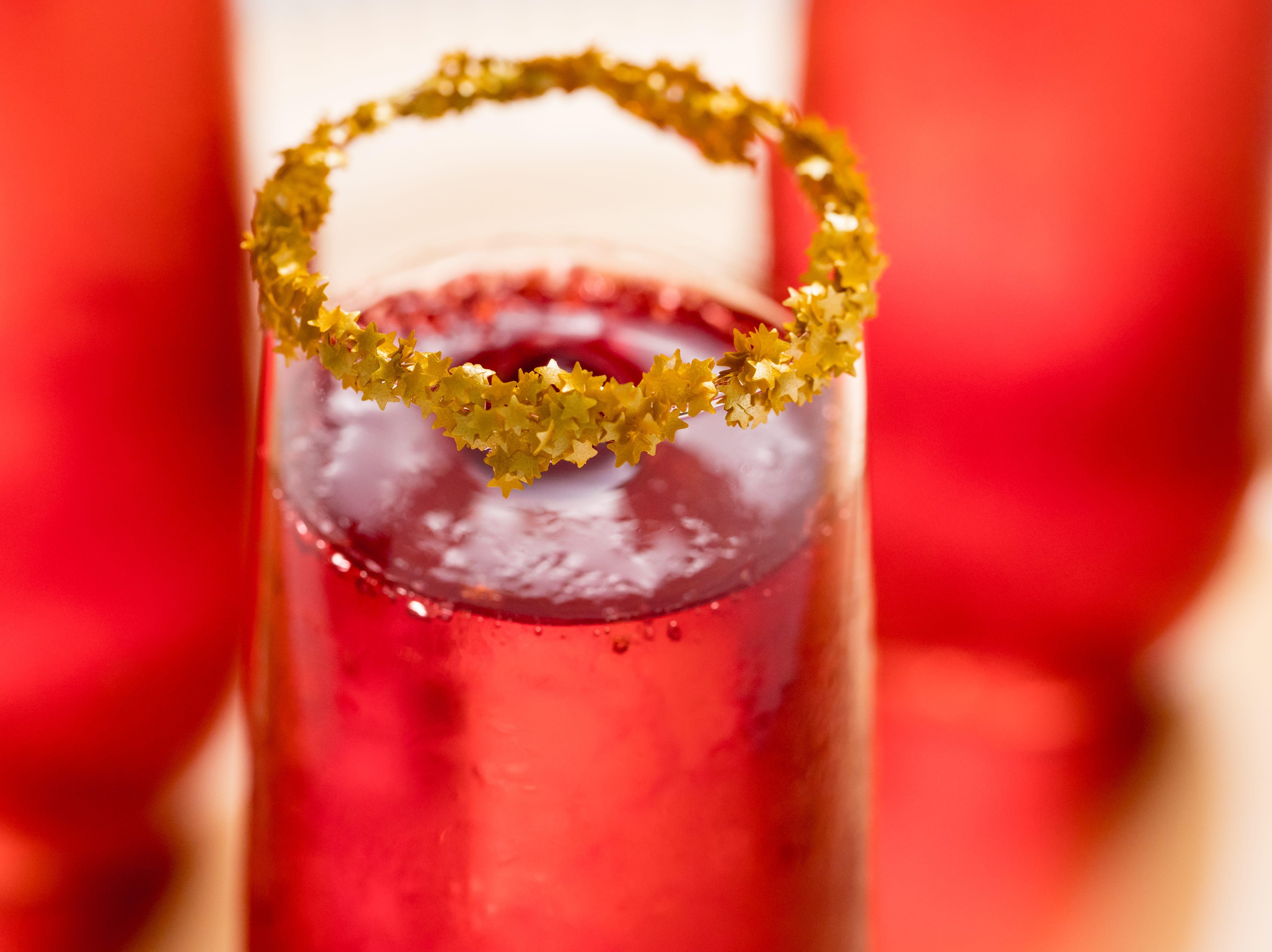 Champagne Jell-O shots