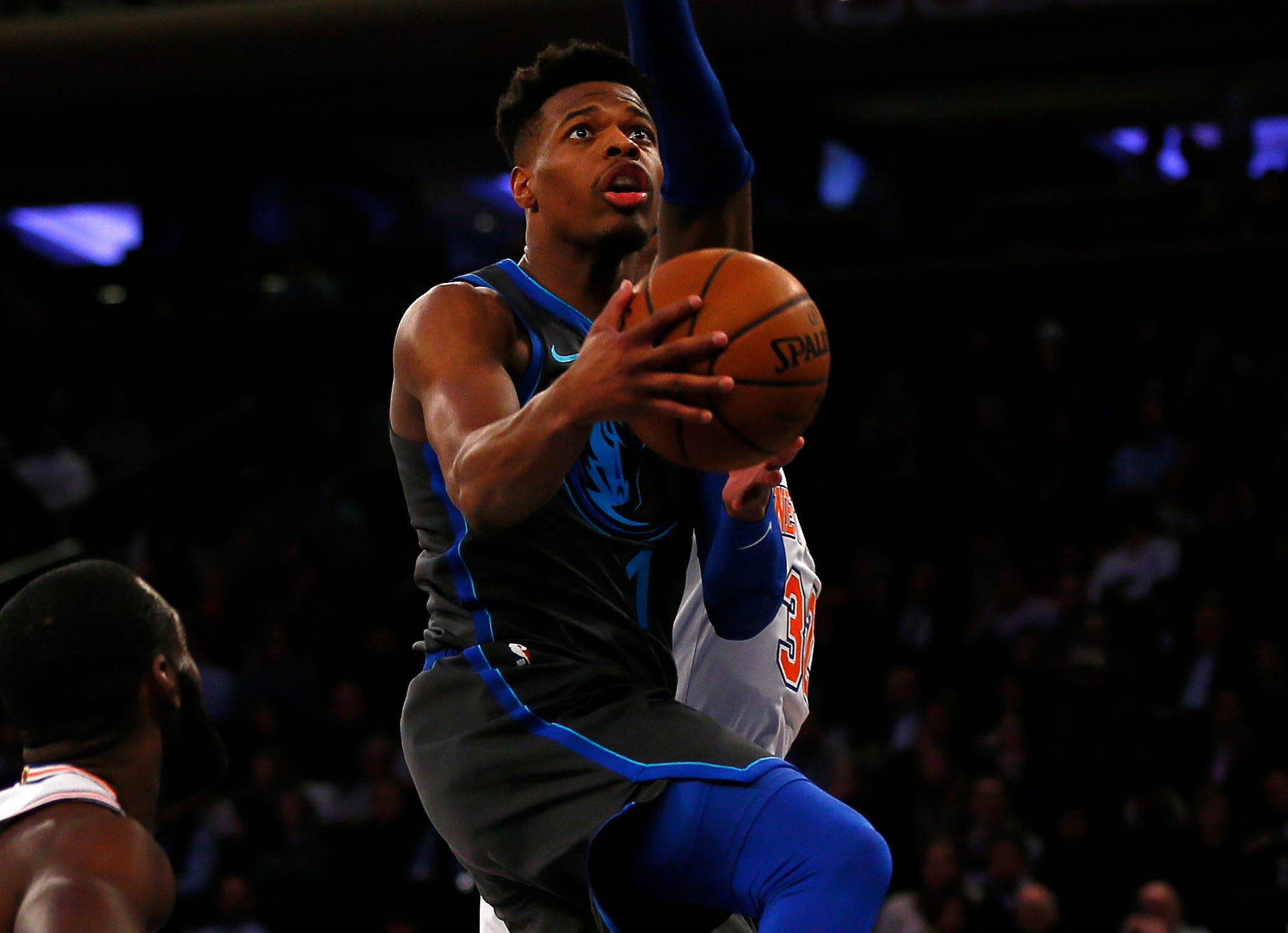 68. Dennis Smith Jr., Mavericks (Jan. 30): 13 points, 15 assists, 10 rebounds in 114-90 win over Knicks.