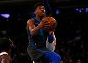 68. Dennis Smith Jr., Mavericks (Jan. 30): 13 points, 15 assists, 10 rebounds in 114-90 win over Knicks.