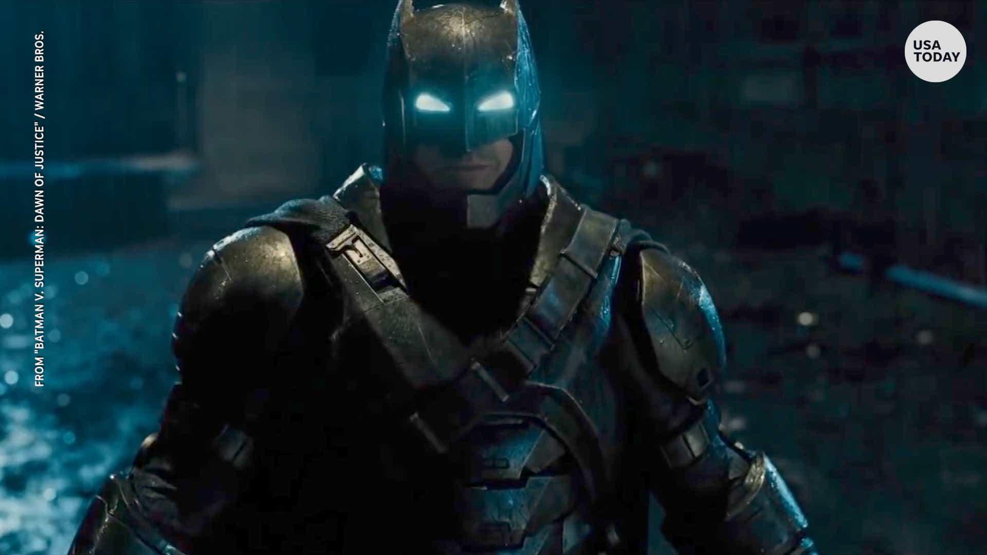Ben Affleck bows out of next 'Batman'