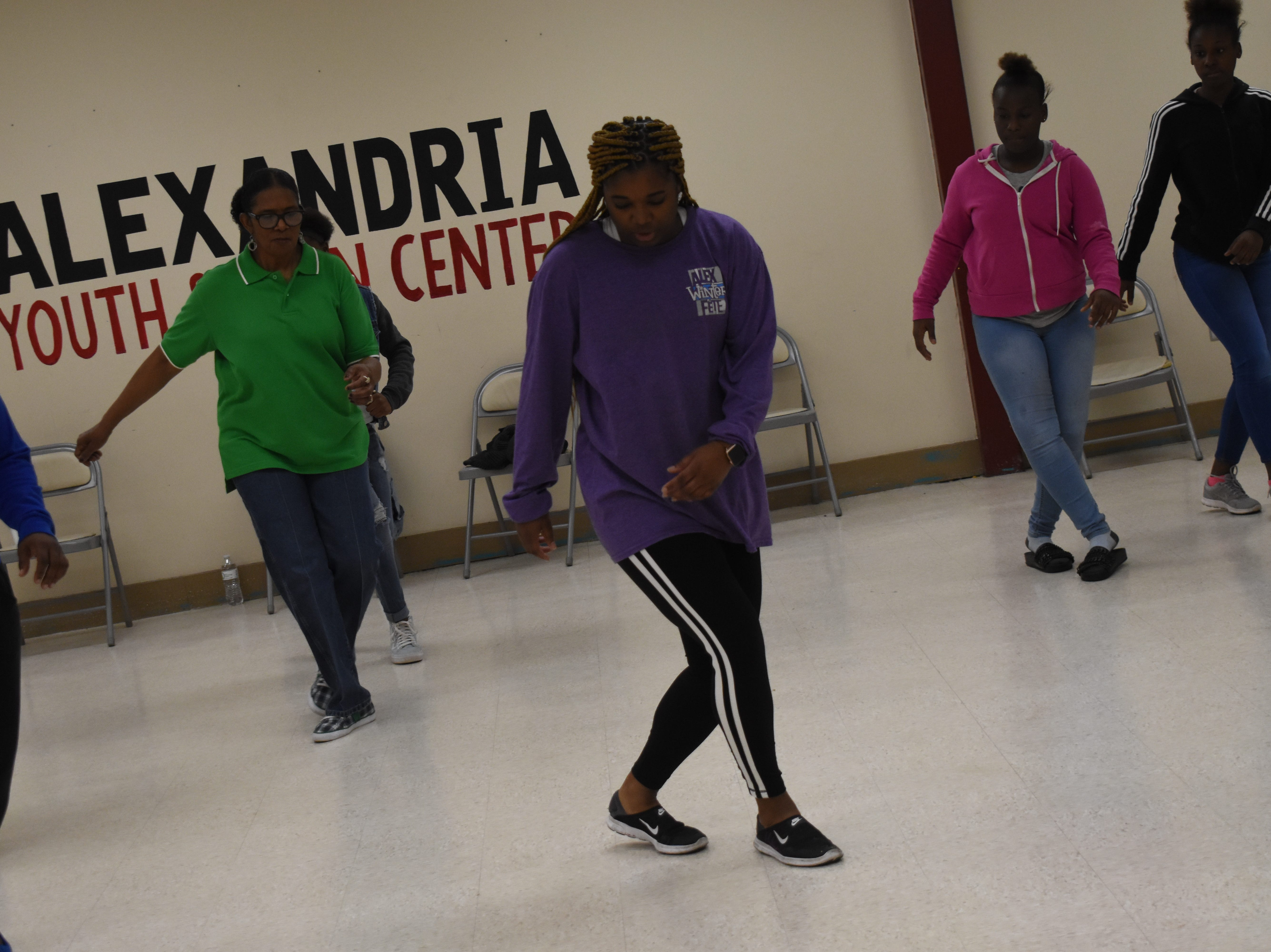 "Sakena Cannon with the Alexandria Youth & Teen Center, along with her sister Aketa Cannon, are instructing free line dancing classes at 6 p.m. every Tuesday and Thursday at the Alexandria Youth & Teen Center located in the former Boys and Girls Club on Sylvester Street. Some of the line dances Sakena and Aketa have taught so far include the ""Cleveland Shuffle,"" ""Same Ole 2 Step,"" ""Do It With Your Boots"" and the ""Mississippi Shuffle."