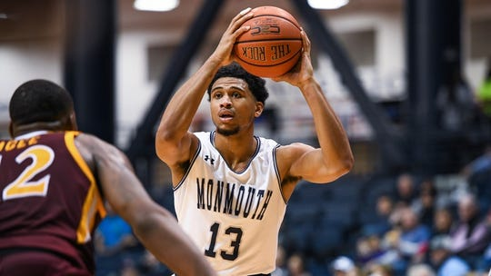 Marcus McClary and the Monmouth Hawks took on Siena on Thursday night at OceanFirst Bank Center.