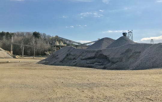 Vulcan's Enka quarry, which opened in the 1960s, produces about 400,000 tons of material a year, on average.