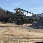 The Vulcan quarry in Enka produces crushed stone for a variety of products, ranging from roads  to rip rap rocks that control erosion.