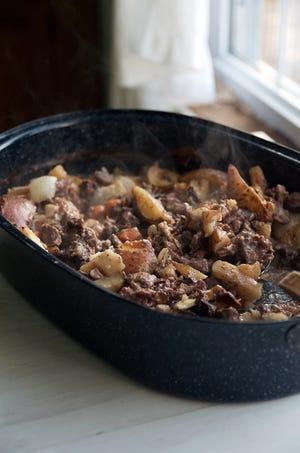 Roast beef stew