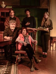 "The cast of KNOW Theatre's ""Long Day's Journey Into Night"" will be: (back from left) Joshua Sedelmeyer, Zac Chastain, Katelyn Rundell, (front from left) Bernie Sheredy and Dori May Ganisin."
