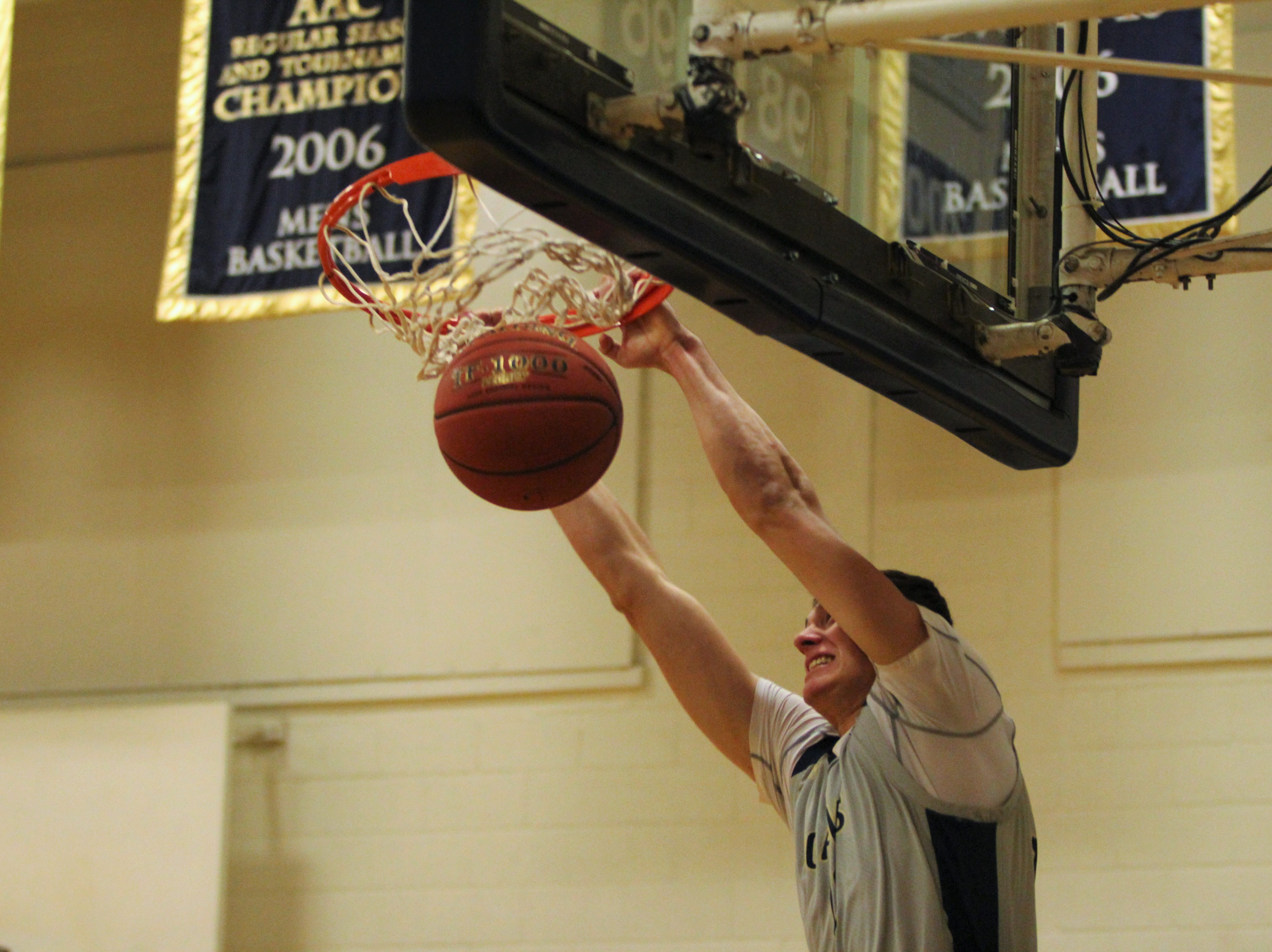 The Montreat Cavaliers improved to 17-4 on Jan. 31, with a 94-77 win over Appalachian Athletic Conference rival Milligan, in front of a sellout crowd inside of McAlister Gym.