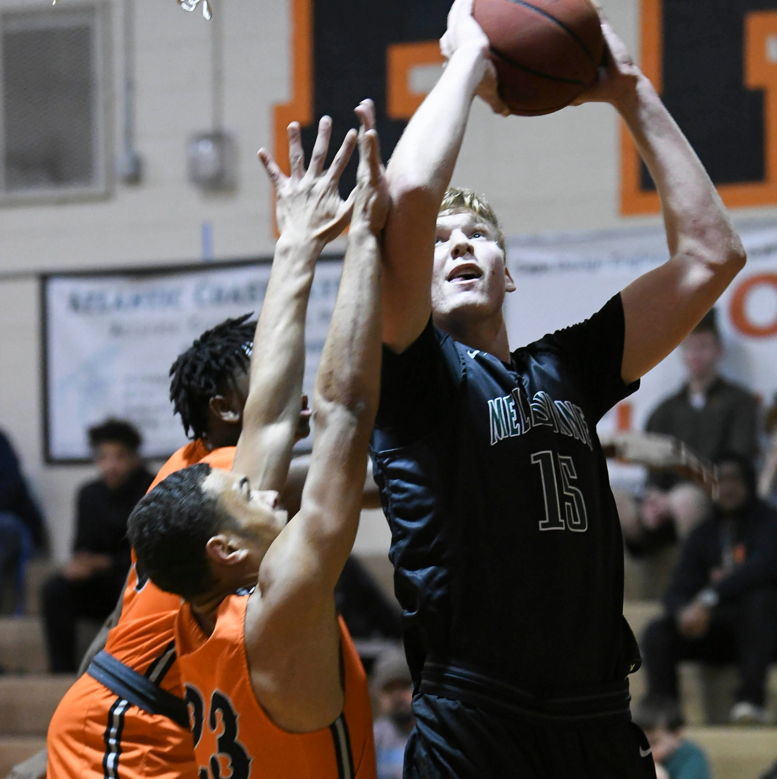 Melbourne High's Max Fielder voted top 8A boys basketball player
